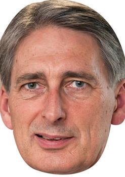 Philip Hammond Politicians 2015 Celebrity Face Mask