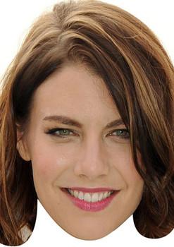 Lauren Cohan Walking Dead 2015 Celebrity Face Mask
