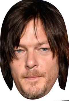 Norman Reedus Walking Dead 2015 Celebrity Face Mask