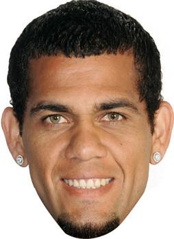 Dani Alves Football 2015 Celebrity Face Mask