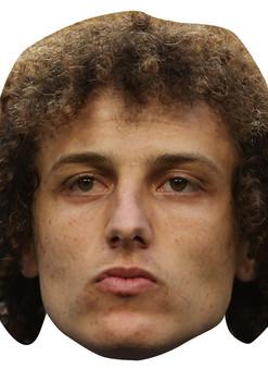 David Luiz Brazil Football 2015 Celebrity Face Mask