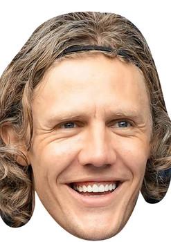 Jimmy Bullard Football 2015 Celebrity Face Mask