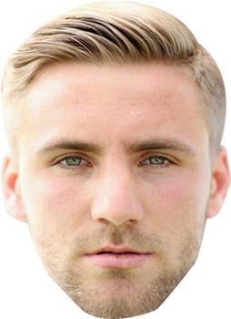Luke Shaw Football 2015 Celebrity Face Mask
