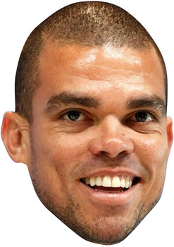Pepe Football 2015 Celebrity Face Mask