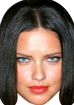 Adriana Lima Movies Stars 2015 Celebrity Face Mask