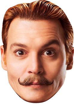 Mortedecai Movies Stars 2015 Celebrity Face Mask