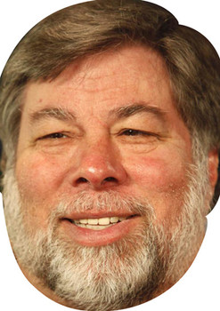 Steve Wozniak Movies Stars 2015 Celebrity Face Mask