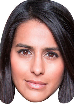 Alya Nazir Tv Stars 2015 Celebrity Face Mask