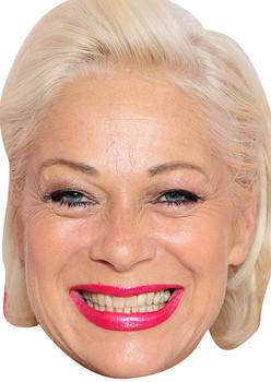 Denise Welch Benidorm Tv Stars 2015 Celebrity Face Mask