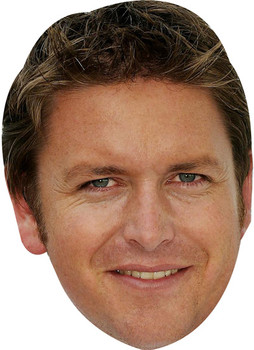 James Martin Tv Stars 2015 Celebrity Face Mask