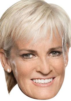 Judy Murray Tv Stars 2015 Celebrity Face Mask