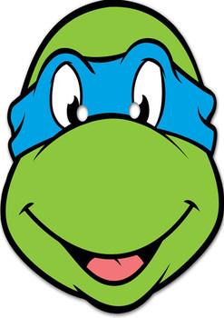 Leonardo Turtles Mask Tv Stars 2015 Celebrity Face Mask