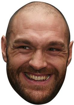Smiley Tyson Fury Gypsie King Boxer Celebrity Face Mask