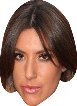 Gabriella Ellis Made In Chelsea Celebrity Face Mask