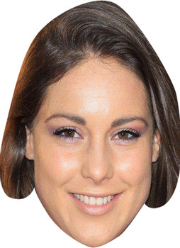 Louise Thompson  Made In Chelsea Celebrity Face Mask