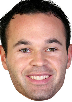 Andres Iniesta Celebrity Face Mask