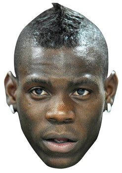 Mario Balotelli Celebrity Face Mask