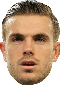 Jordan Henderson Footballers Face Mask