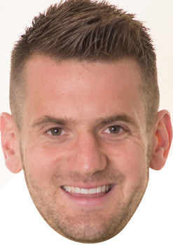 Tom Heaton Footballers Face Mask