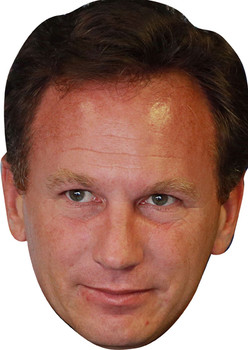 Christian Horner 2 Formula 1 Face Mask