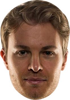 Nico Rosberg Celebrity Face Mask