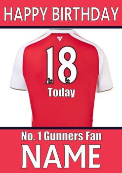 Arsenal Fan Happy Birthday Football