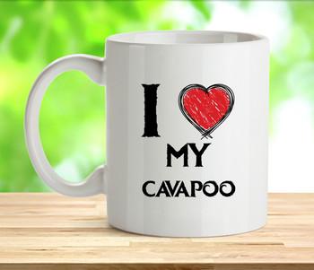 I Love My Cavapoo Mug