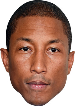 Pharrell Williams Celebrity Facemask