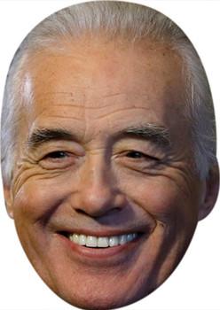 Jimmy Page 2016 Tv Stars Face Mask
