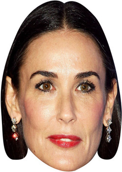 Demi Moore Tv Stars Face Mask
