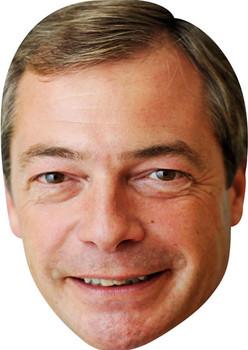Nigel Farage New 2016 Tv Stars Face Mask