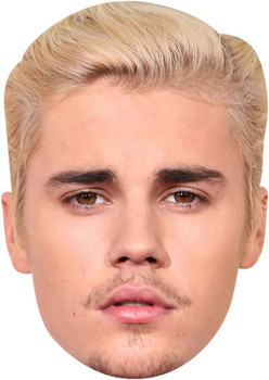 Justin Bieber  Tv Stars Face Mask