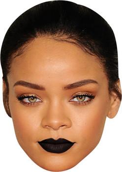 Rihanna Black Lips Tv Stars Face Mask
