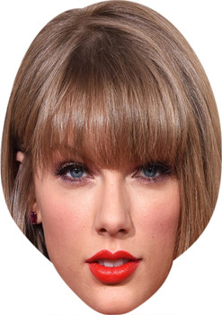 Taylor Swift  Music Stars Face Mask