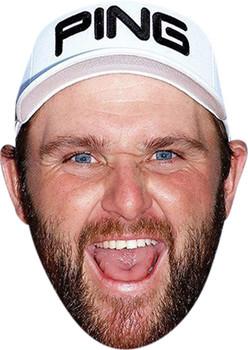 Andy Sullivan Golf Celebrity Face Mask Party Mask