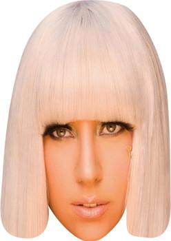 Lady Gaga Celebrity Face Mask Party Mask