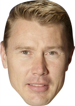 Mika Hakkinen Celebrity Face Mask Party Mask