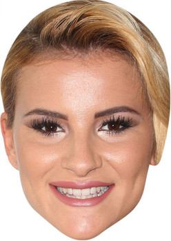 Towie's Georgia Kousoulou Celebrity Face Mask Party Mask