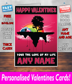 His Or Hers Valentines Day Card KE Design1 Valentines Day Card