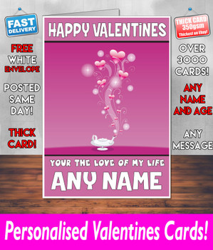 His Or Hers Valentines Day Card KE Design107 Valentines Day Card