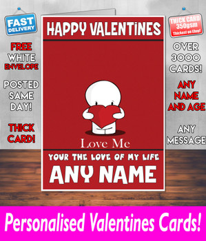 His Or Hers Valentines Day Card KE Design108 Valentines Day Card
