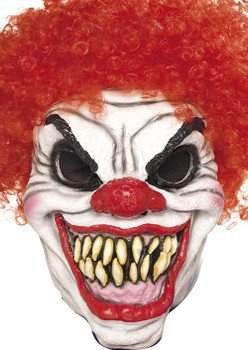 Scary Clown Red Face Mask 2017 Face Celebrity Face Mask