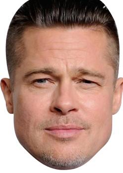 Brad Pitt 2015 Celebrity Face Mask
