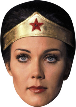Lynda Carter (2) Celebrity Face Mask