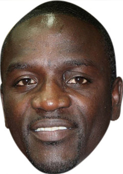 Akon MH 2017 Music Celebrity Face Mask