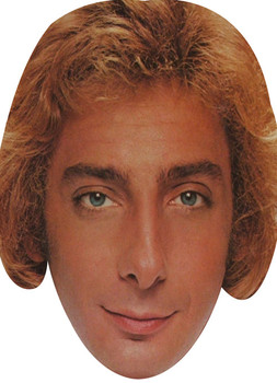 Barry Manilow Young Music Celebrity Face Mask