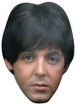 Beatles 3 Music Celebrity Face Mask