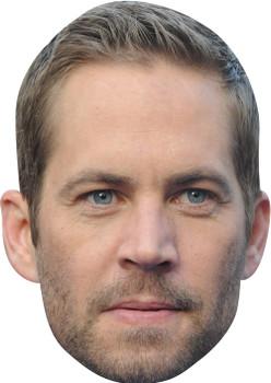 Paul Walker MH 2017 Celebrity Face Mask