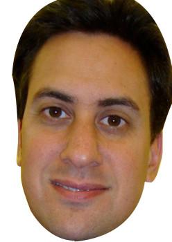 Ed Miliband (2) New 2017 Face Mask
