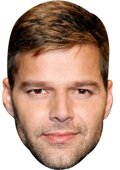 Ricky Martin 2017  Music Celebrity Face Mask